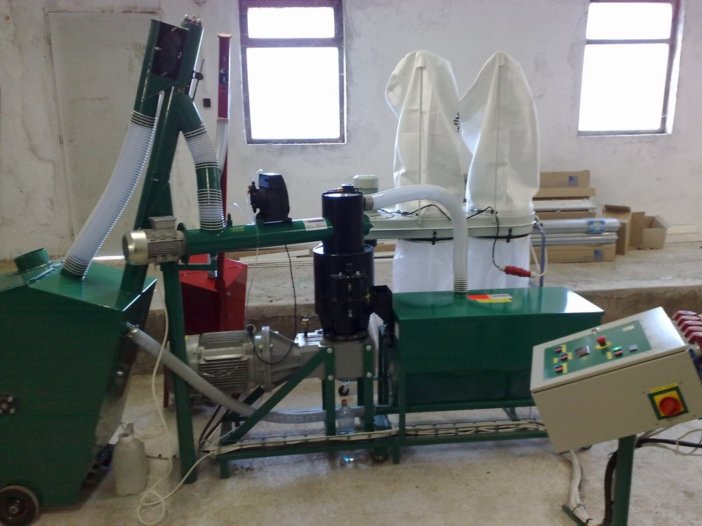 MGL 400 linka na výrobu pelet