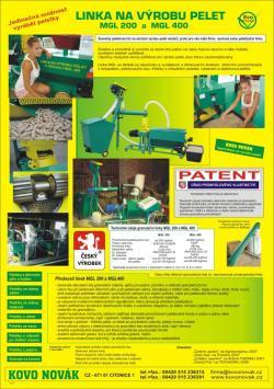 Granulační linka MGL200, MGL 400